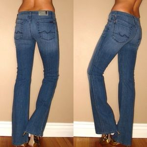 7 For All Mankind Bootcut Women's Jeans 24 26 28